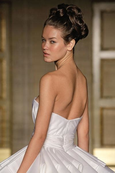 Hepburn Inspired Wedding Hairstyles how to do chic bridal chignons like the iconic