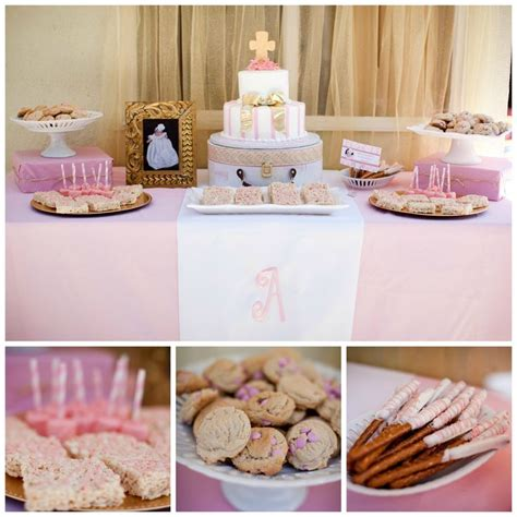 what to put on a dessert table 25 best ideas about baptism themes on baptism