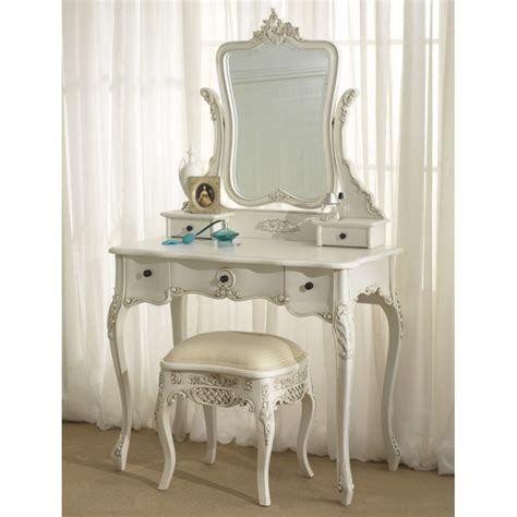 Modern Vanity Chair Modern White Wooden Dressing Table With Drawers And Square