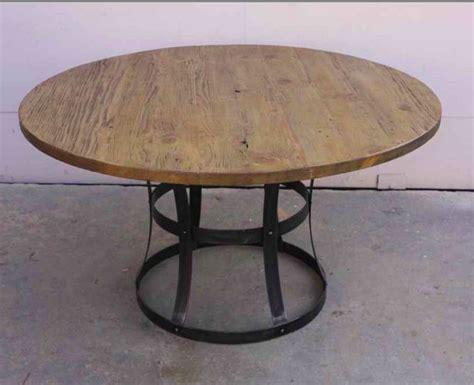 reclaimed wood metal dining table handmade custom metal and reclaimed wood dining table by