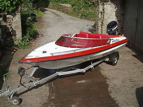 picton boats picton 150 gts speed boat 70hp eviude outboard and