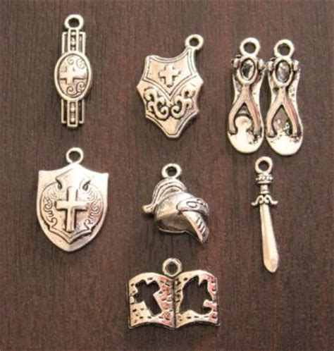 charms pendants armour of god charm set was sold for
