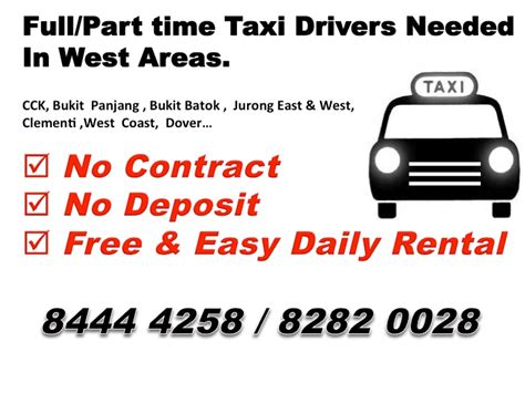 Comfort Taxi Relief Driver by Cabby Sg