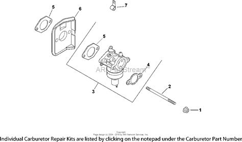 kohler small engine carburetor diagrams kohler 18 hp