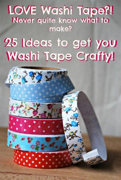washi tape craft ideas washi tape crafts ideas red ted art s blog