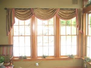 Swag Valances For Windows Designs Pole Swag Valance With Cascades And Key Tassles Traditional Philadelphia By Drapery Design