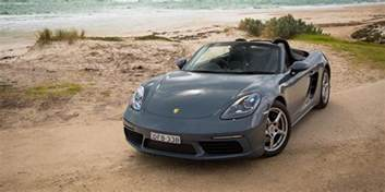 Porsche Reviews 2016 Porsche 718 Boxster Review Caradvice