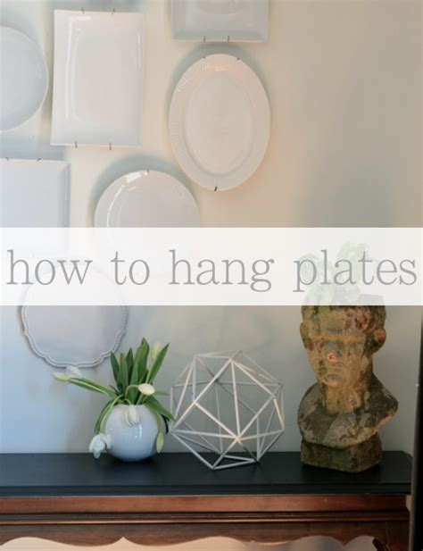 how to hang pictures on a wall how to hang plates on the wall