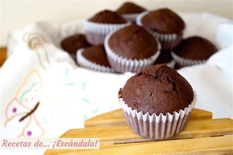 chocolate recetas con un 8403500769 magdalenas de chocolate caseras y esponjosas receta f 225 cil recetas de 161 esc 225 ndalo