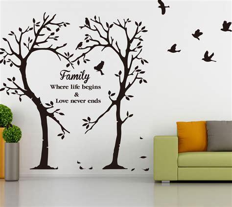 ebay tree wall stickers family inspirational tree wall sticker wall