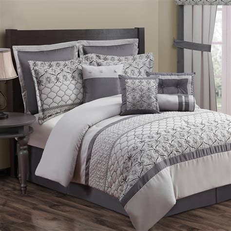 Grey Comforter Sets King by Grey Cal King Bedding Kohl S