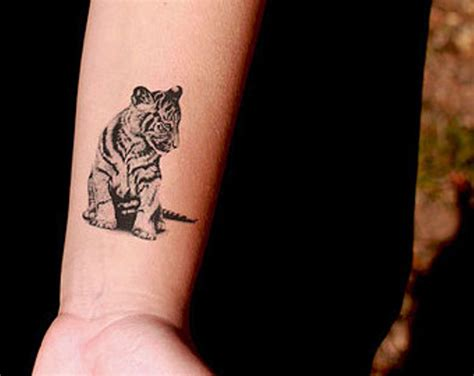 pictures wrist tattoos 16 pretty tiger wrist tattoos