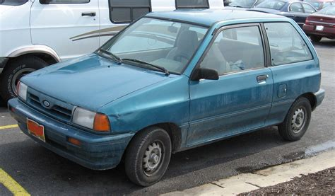 car manuals free online 1991 ford festiva spare parts catalogs file 1st ford festiva jpg wikimedia commons