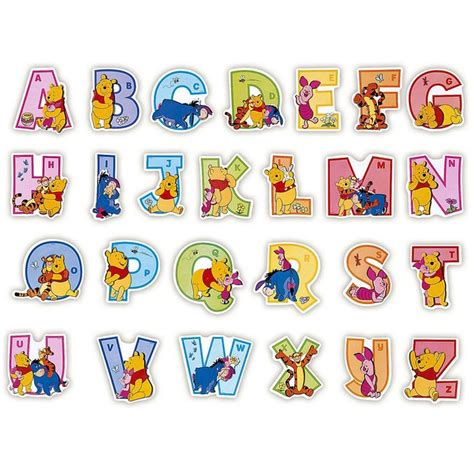 printable alphabet stickers color drawing to print famous characters walt disney