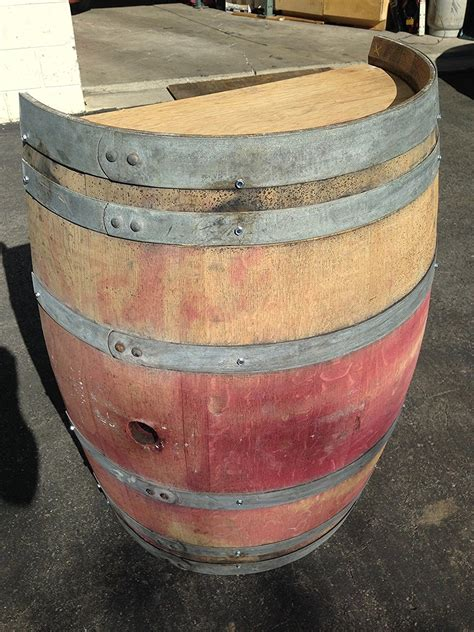 wine barrel half planter buffalo barrel company