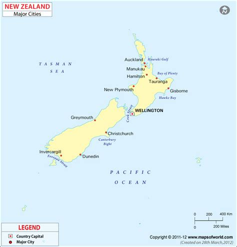 political map of new zealand geography political map of new zealand