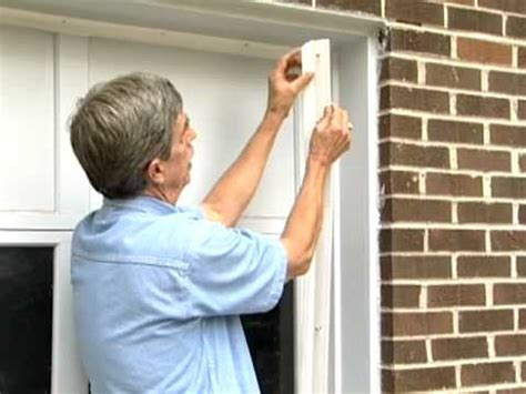 seal around garage door garage door weather seal tips