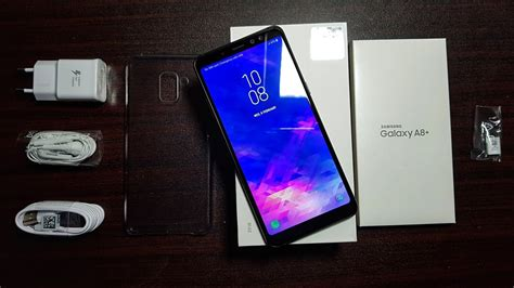 Samsung A8 Plus samsung galaxy a8 plus 2018 unboxing