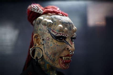 eyeball tattoo on back of head body modifiers the atlantic