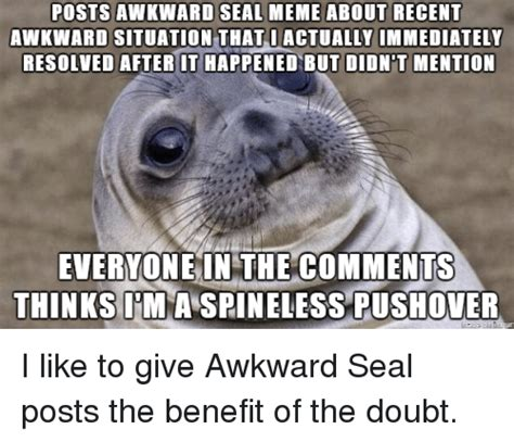 For Seal Meme - 25 best memes about awkward seal awkward seal memes