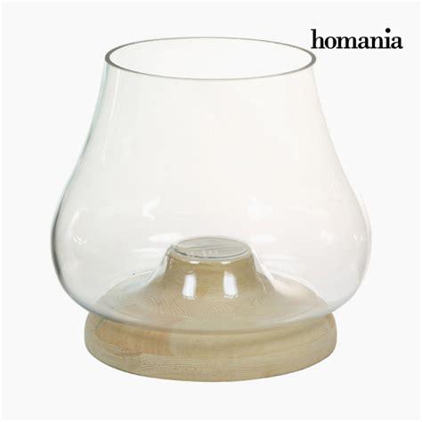 kerzenschale glas kerzenschale glas holz deco kollektion by