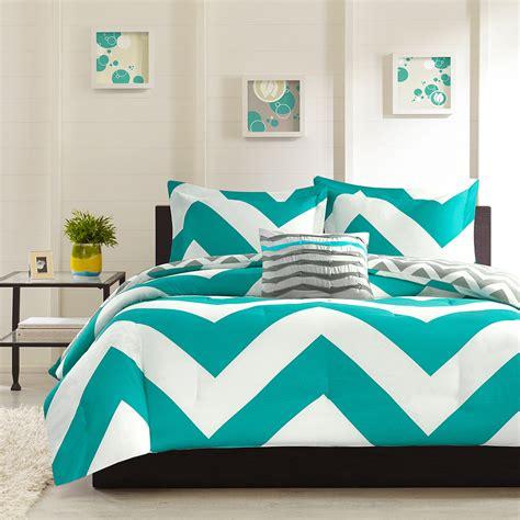 mizone leo 3 piece twin txl comforter set in blue home