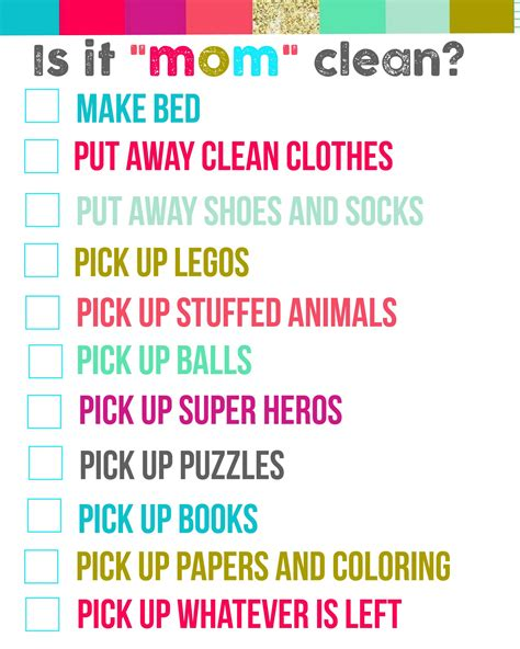 bedroom chore list bedroom chore list amazing pictures 7 is it mom clean