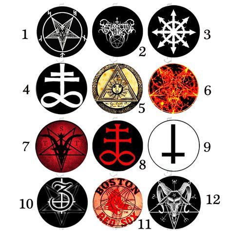 samael lilith satanic goat pentagram pendant ritual altar