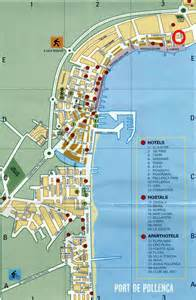 map of hotels in accommodation in pollensa pollensa where to