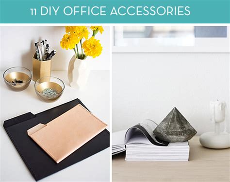 Diy Office Desk Accessories Roundup 11 Awesome Diy Office Accessories To Keep You Motivated In Your Workspace 187 Curbly