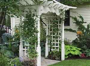How To Build An Arbor Trellis by How To Build An Arbor On An Uneven Surface Ehow Uk
