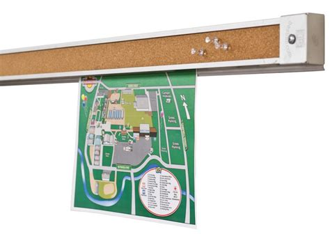 paper message display strip wall display paper gripper making the most of wall space bulletin boards and so much