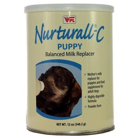 puppy milk replacer take nurturall c puppy balanced milk replacer powder 12 oz for dogs