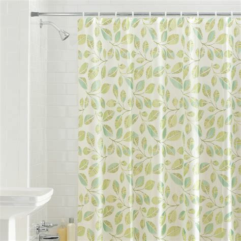 shadow leaves shower curtain hometrends shadow leaf shower curtain walmart com