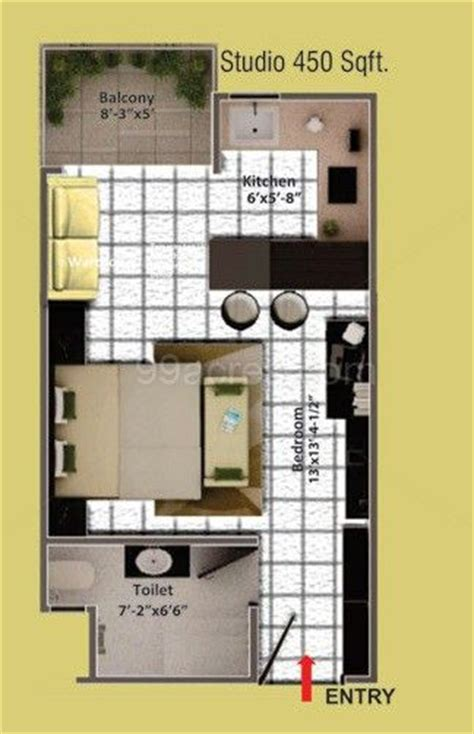 home design for 450 sq ft 450 sq ft house google search garage conversion