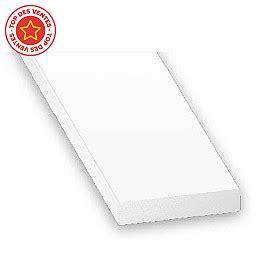 Kape Plat Pvc 7 plat pvc blanc 40 x 3 mm 2 m castorama