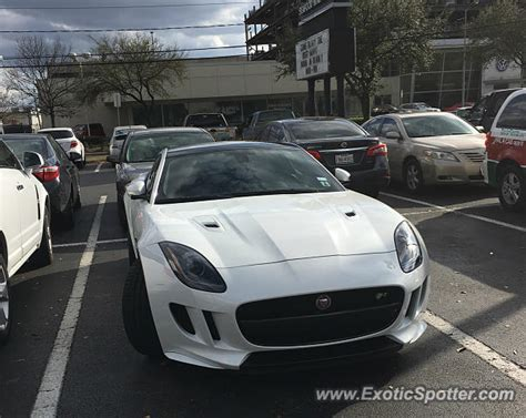 jaguar f type spotted in houston on 03 02 2016
