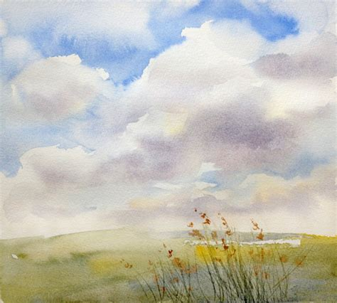 the sky s the limit how to paint the sky in watercolor
