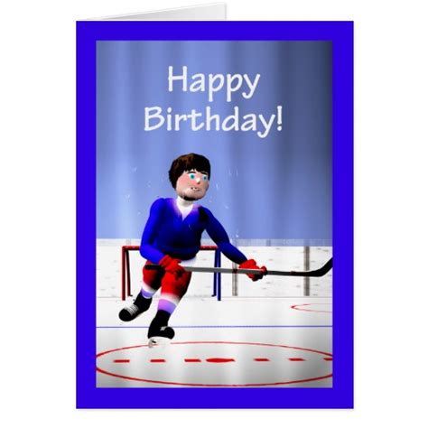 printable birthday cards hockey hockey gifts t shirts art posters other gift ideas