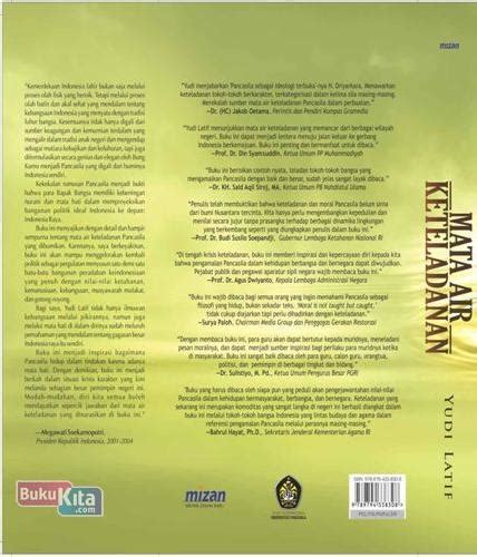 Buku Mata Air Keteladanan Yudi Latief bukukita mata air keteladanan toko buku