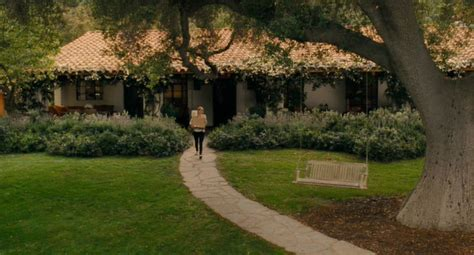 Ranch House Plans With Porch tour the spanish style home in the movie it s complicated