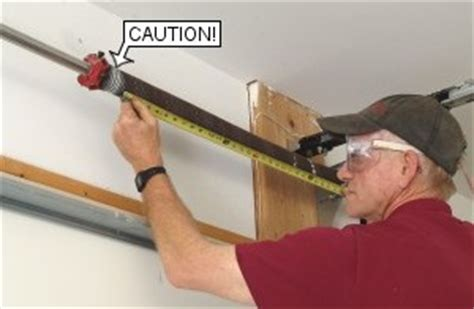 Measuring Garage Door Springs by How To Replace Garage Door Torsion Springs