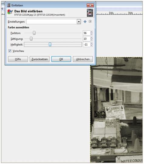 gimp tutorial effekte gimp tutorial bearbeiten von fotos f 252 r ein fotobuch