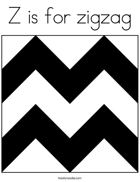 coloring pages for zigzag zig zags colouring pages