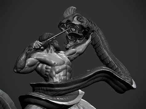 zbrush arm tutorial beowulf wip daniel bel on artstation at https www