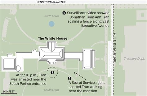 diagram of the white house says secret service did a fantastic on