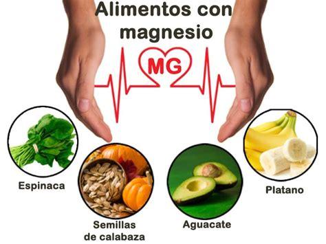 alimentos que contengan mucho calcio alimentos con magnesio su importancia fuentes y consejos