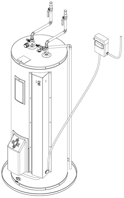 wiring diagram bradford white water heater k