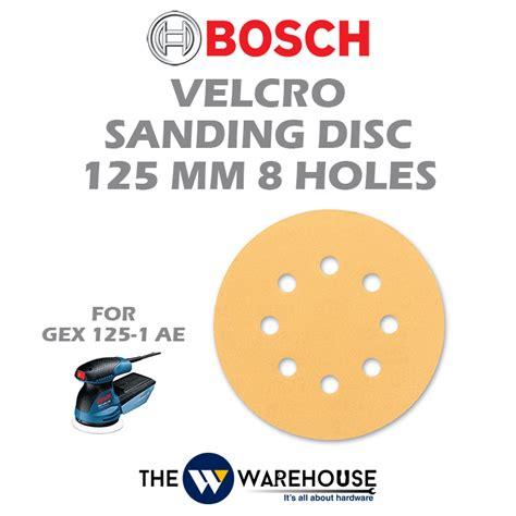bosch velcro sanding disc 125mm malaysia thewwarehouse