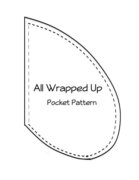 pocket template skirt pocket tutorial all wrapped up